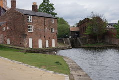 East Manchester Canal - House Stock Images