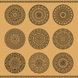 East mandalas Royalty Free Stock Photos