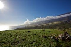East Maui's Shore Stock Photo