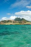 The East of Mauritius Stock Image