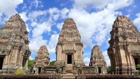 East Mebon, Angkor, Cambodia. Royalty Free Stock Image