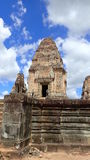 East Mebon, Angkor, Cambodia. Royalty Free Stock Images