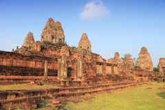 East Mebon, Angkor Stock Photos