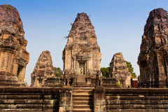 East Mebon Temple of Angkor, Cambodia Stock Image