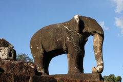 East Mebon Temple Elephant Royalty Free Stock Photography