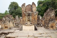 East Mebon temple ruins Stock Images