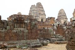 East Mebon temple ruins Stock Photography