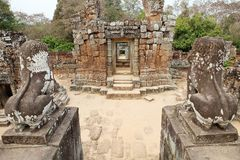 East Mebon temple ruins Royalty Free Stock Photo