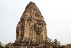 East Mebon temple ruins Royalty Free Stock Images