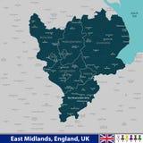 East midlands, Reino Unido libre illustration