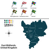 East Midlands, United Kingdom Stock Photo