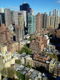 East Midtown Aerial Stock Image