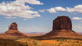 East Mitten and Merrick Butte stock image