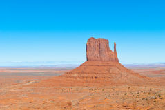 East Mitten in Monument Valley Royalty Free Stock Images