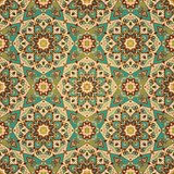 East, ornate, geometric decor. Stock Images