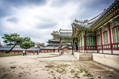 East Palace in Seoul. Changdeokgung Palace in Seoul, South Korea, that was inhabited by members of Korea's royal family during the Joseon monarchy Stock Photos