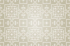 East pattern beige background Royalty Free Stock Image