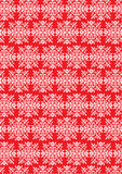 East pattern. Traditional classic red colour theme pattern Stock Images