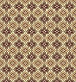 East patterns. In brown colors on all background Stock Photo
