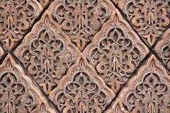 East patterns on a wall Royalty Free Stock Photography