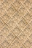 East patterns on a wall stock photo