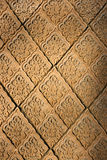 East patterns on a wall Stock Photography