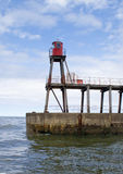 East pier lighthouse - Whitby Stock Photography