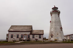 East Point Lighthouse. An old lighthouse in East Point, PEI, Canada royalty free stock image
