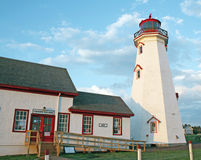 East Point Lighthouse Stock Photo
