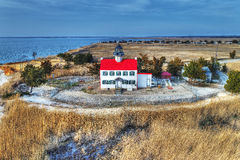 East Point Lighthouse Royalty Free Stock Photography
