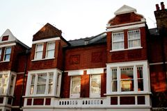 East Putney top level of house Royalty Free Stock Images