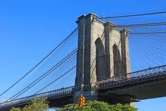 East pylon of Brooklyn Bridge Royalty Free Stock Photography
