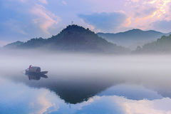 East quack summer morning (picture) Royalty Free Stock Images