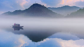 East quack summer morning (surface portion) Stock Image