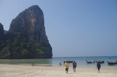 East Railay Royalty Free Stock Image