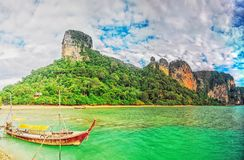 East Railay panorama Royalty Free Stock Image