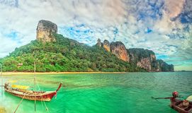 East Railay panorama Royalty Free Stock Photos