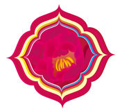 East religion lotus pattern Stock Photography