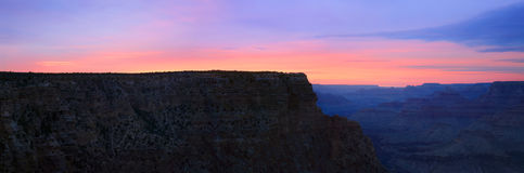 East Rim Sunset Stock Photos