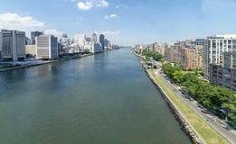 East River Lizenzfreie Stockfotografie