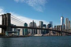East River de Brooklyn, New York City Imagem de Stock Royalty Free