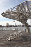 East River Ferry Terminal in NYC Stock Image