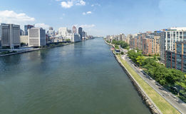 East river Royalty Free Stock Photography