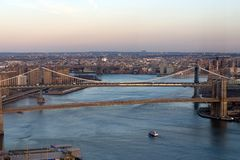 East River, New York Photo stock