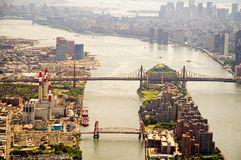 East River New York City Images libres de droits