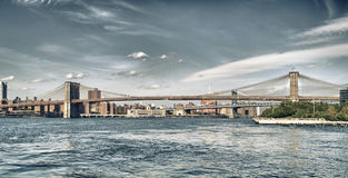 East River panorama. Royalty Free Stock Photos