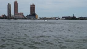 East River stock video footage
