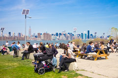 East River State Park Brooklyn Stock Image