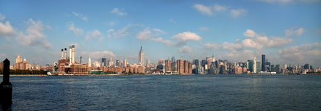 East River View of Manhattan NYC USA Stock Photo