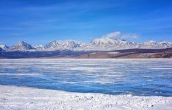East Sayan from Hovsgol Lake Royalty Free Stock Photos